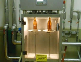 Semi automatic bottle filler -Type:FF2/14